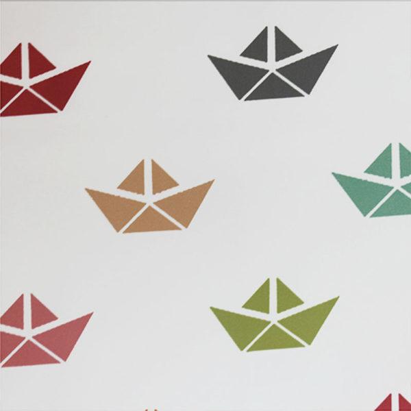 Tienda de campana infantil Barcos detalle diseño