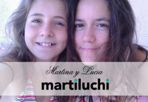 Martina y Lucia, inspiración de la marca MARTILUCHI