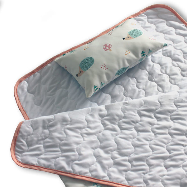 Saco de dormir infantil Erizo detalle