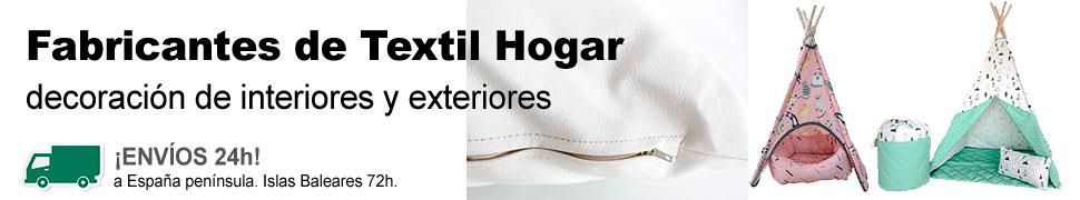 Fabricantes de Textil Hogar para la decoración interior y exterior