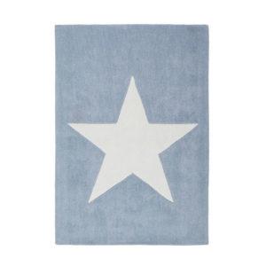 Alfombra estrella azul