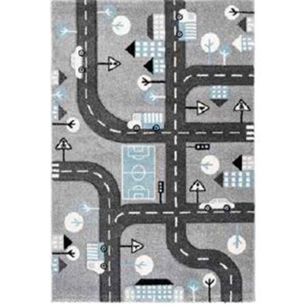 alfombra juego gris