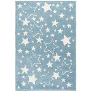 alfombra multiestrellas azul