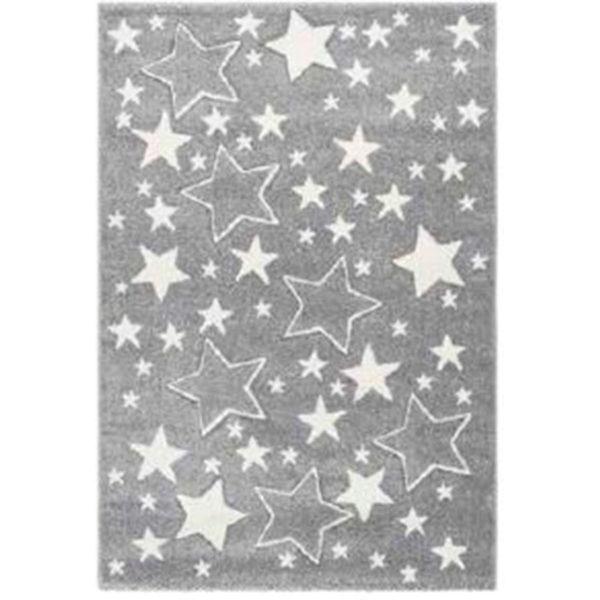 alfombra multiestrellas gris